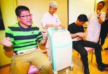 Nanjing Men Endure Childbirth Pain