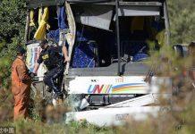 Jiangsu tourists in Canada bus crash