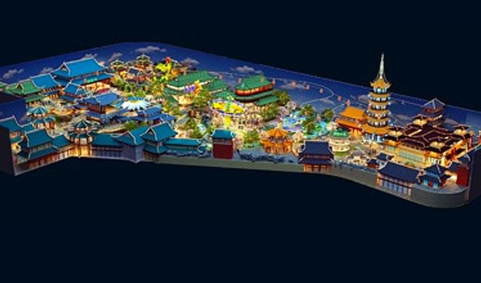 Wanda indoor theme park