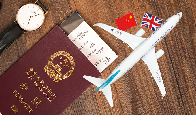 uk visa application from china
