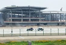 Nanjing Airport's Terminal 3 Construction Racing Ahead